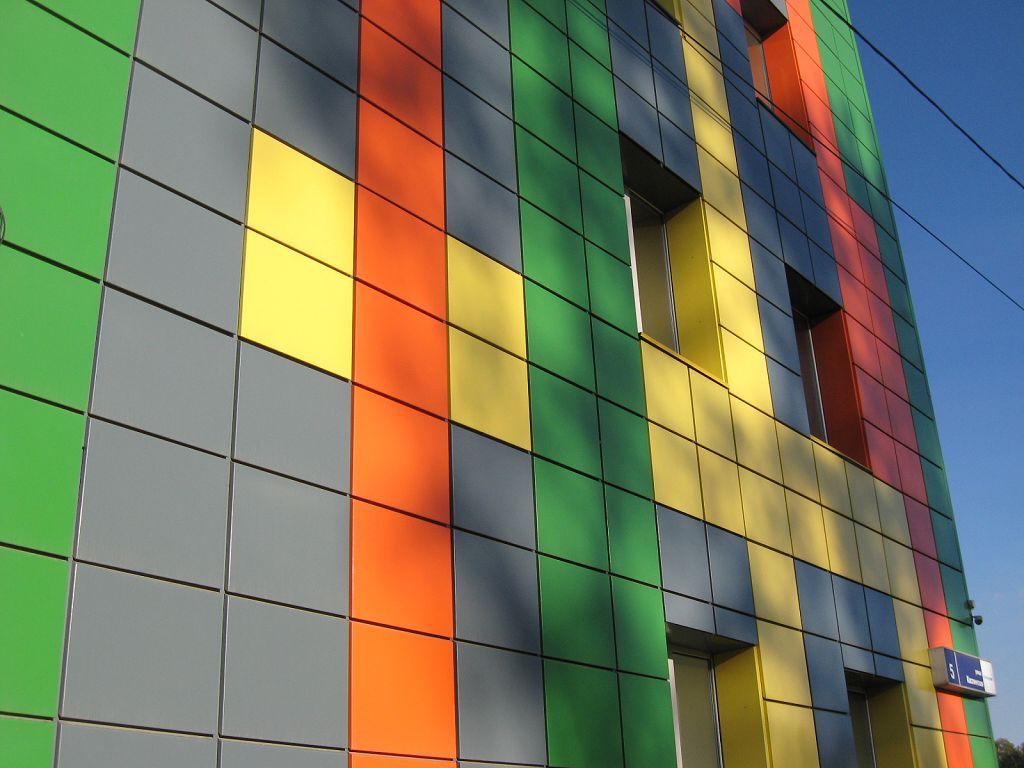 Отделка фасада - фото