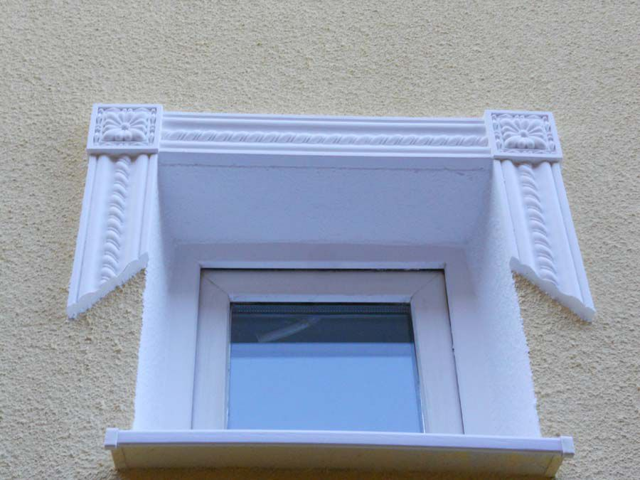 Пример оформления окна