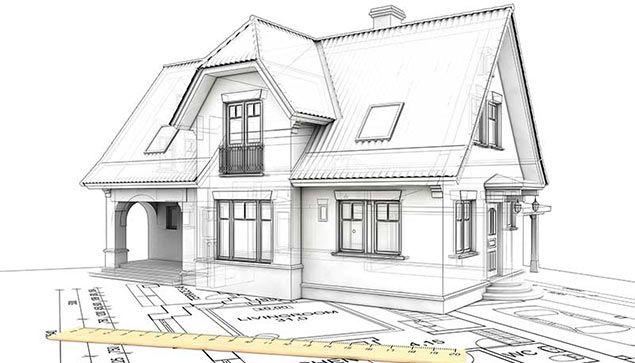 Проект дома готовится только после геологической разведки