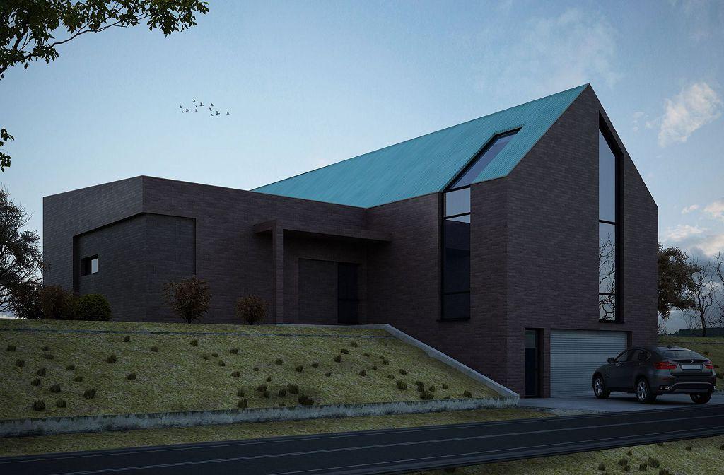 Проект дома в стиле лофт - фото