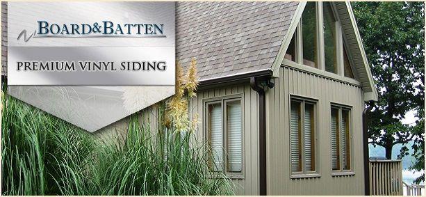 Сайдинг Mitten - серия Board & Batten