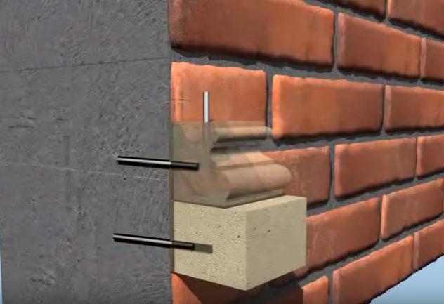 Схема сверления отверстий и соединения стены и базы