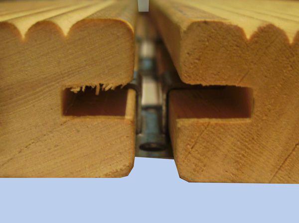 Скрытый крепеж для фасадной доски