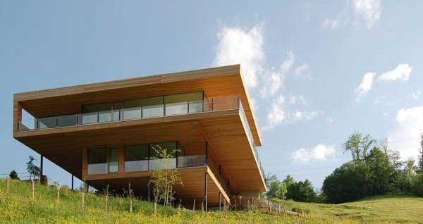 Современный дом в стиле модерн