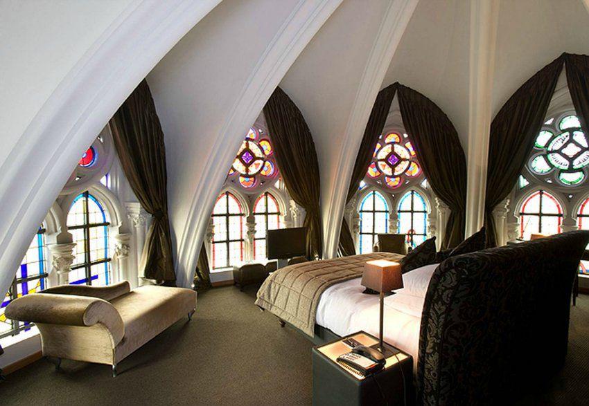 Витражи в готическом стиле