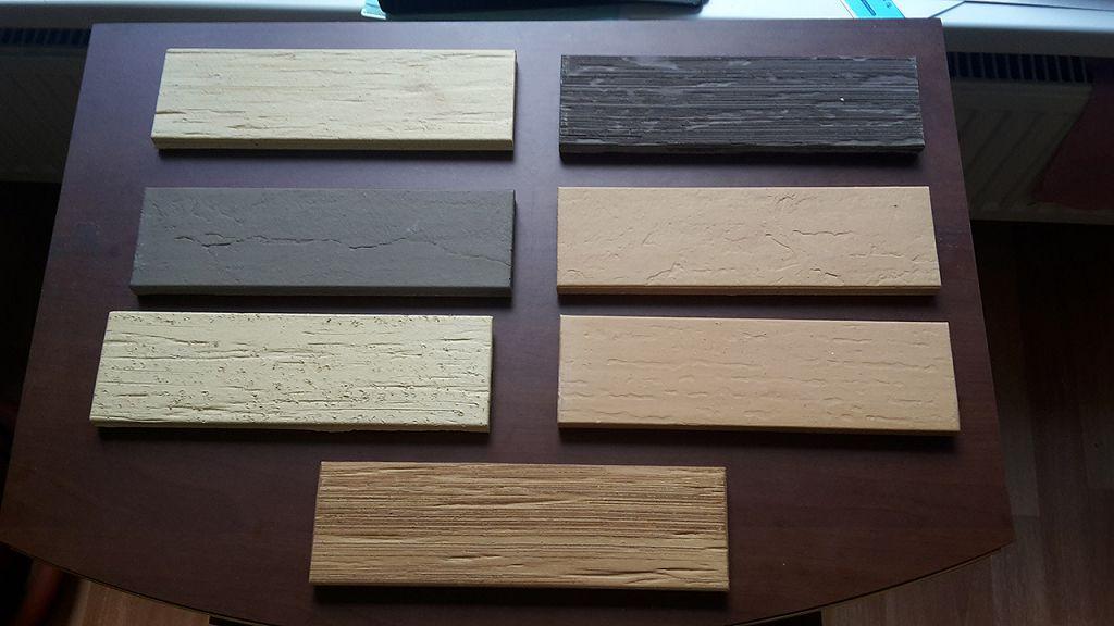 Цветовая гамма плитки отечественного производства