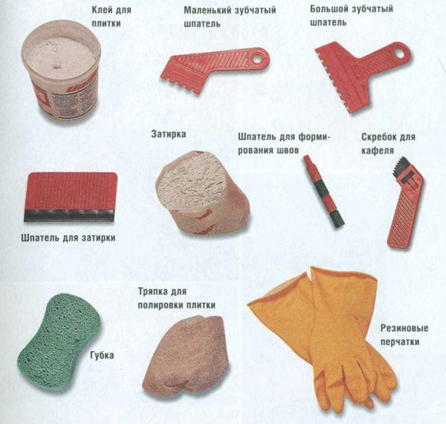 Для того чтобы затереть швы между плиткой, следует заранее подготовить материалы и инструменты