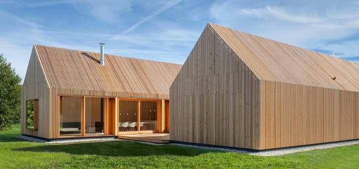 Дом с решётчатым фасадом