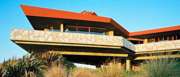 Дом в Калифорнии по проекту Фрэнка Ллойда Райта-младшего