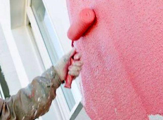 Фасадная краска по штукатурке
