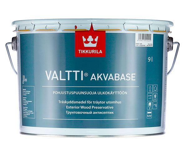 Грунтовка Tikkurila Valtti Akvabase (Валтти Аквабейс)