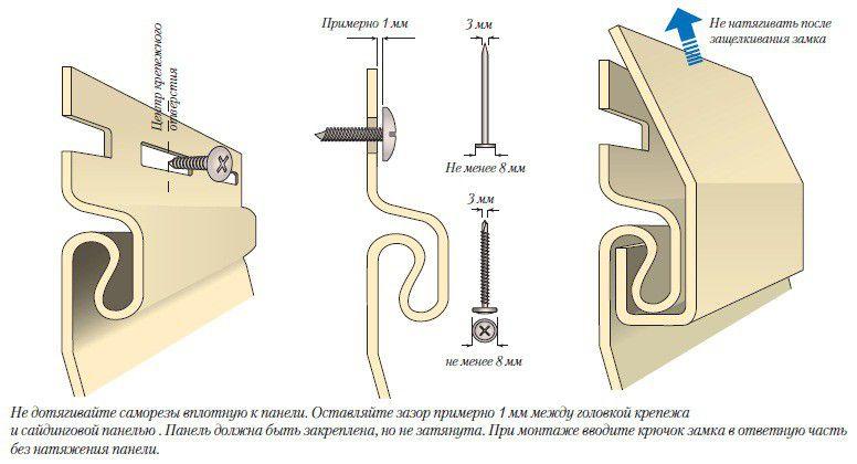 Как выполняется стыковка сайдинга