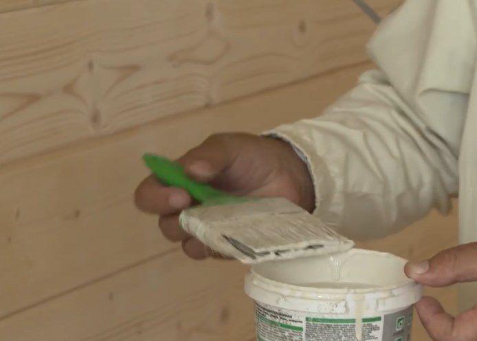 Краска для наружных работ отличается хорошей стойкостью к атмосферным воздействиям