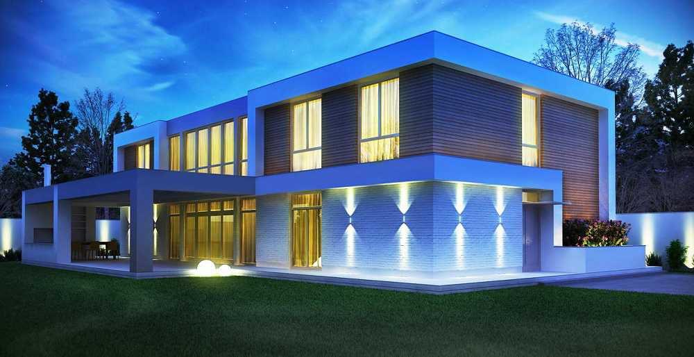 Модульные дома в стиле минимализм