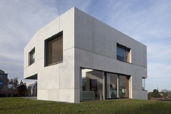 Монолитные бетонные стены