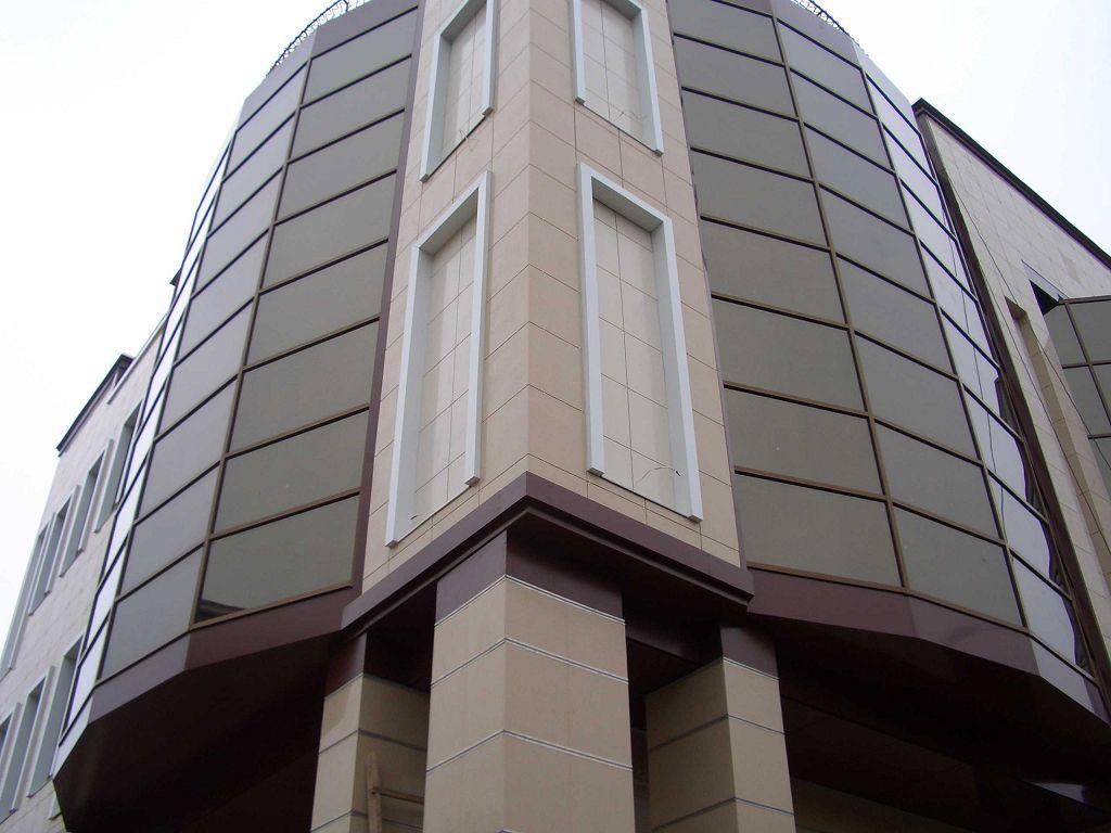 Облицовка фасадов алюминиевыми композитными панелями