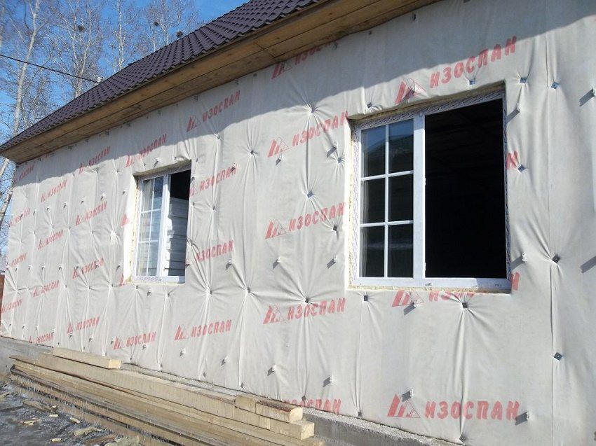 Пароизоляция для стен