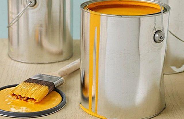Поверьте целостность тары перед покупкой краски