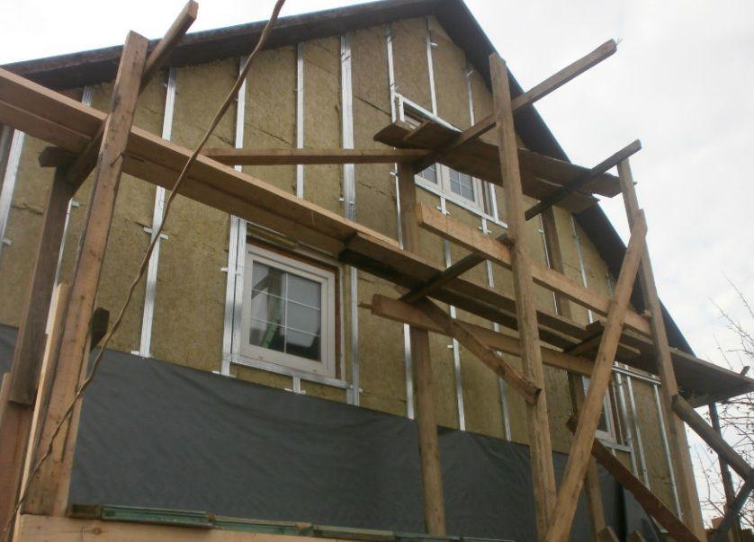 Пример ремонта с утеплением