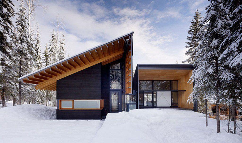 Скандинавский дом в стиле минимализм