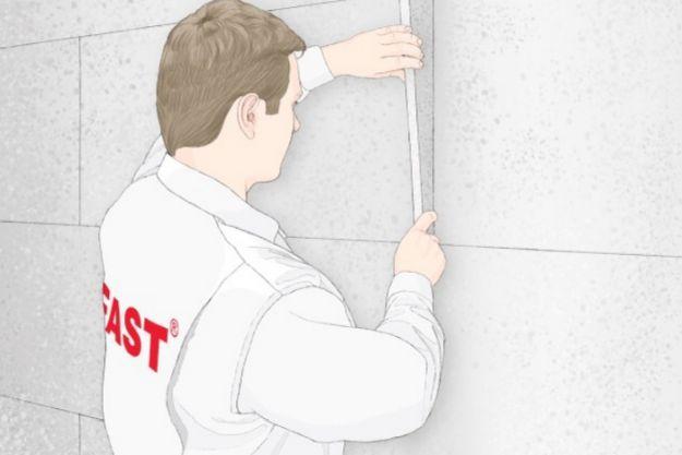 Зазоры между плитами более 2 мм следует заполнить полосками, отрезанными от плит пенопласта