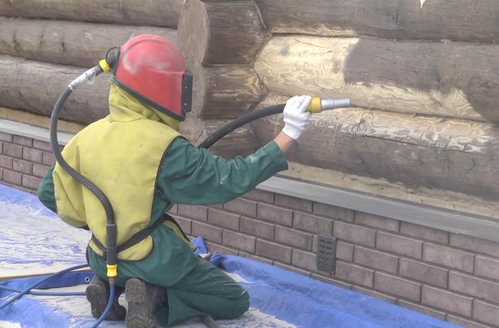 Абразивно - струйный метод шлифовки древесины
