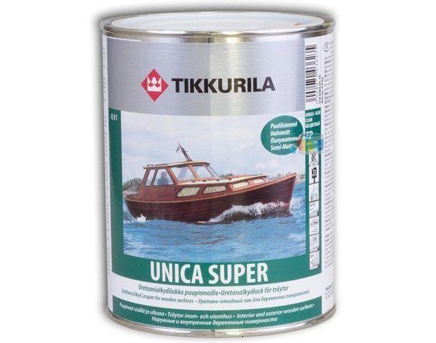 Быстросохнущий лак TIKKURILA UNICA SUPER