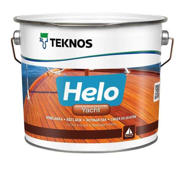 HELO YACHT - уретано-алкидный быстросохнущий лак