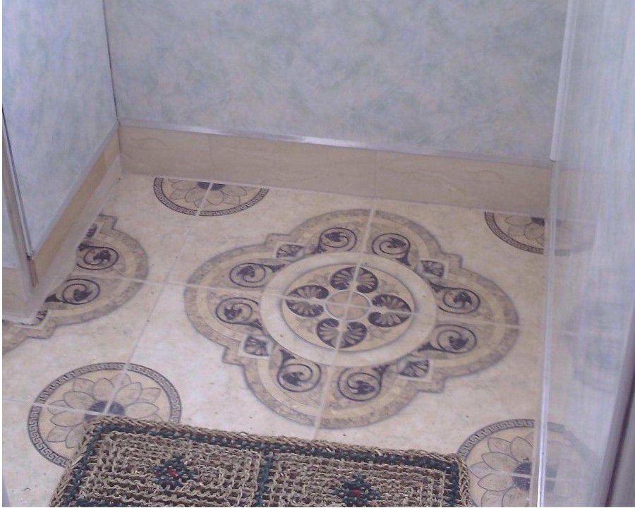Полы из керамической плитки