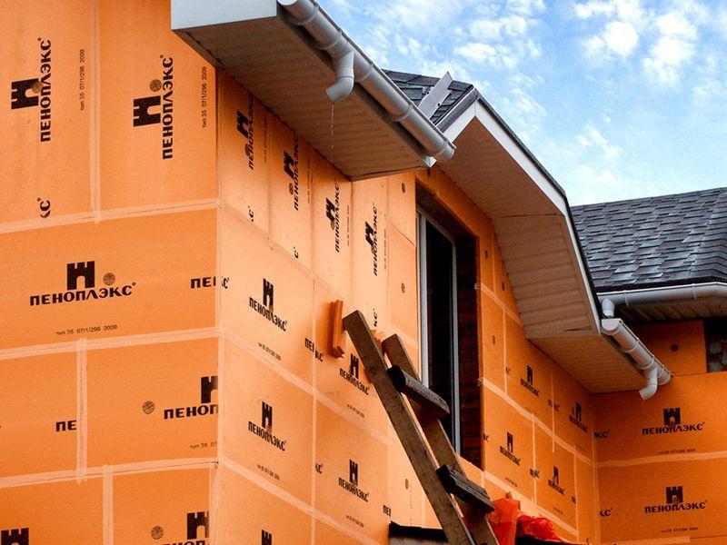 Применение ЭППС для утепления стен дома снаружи