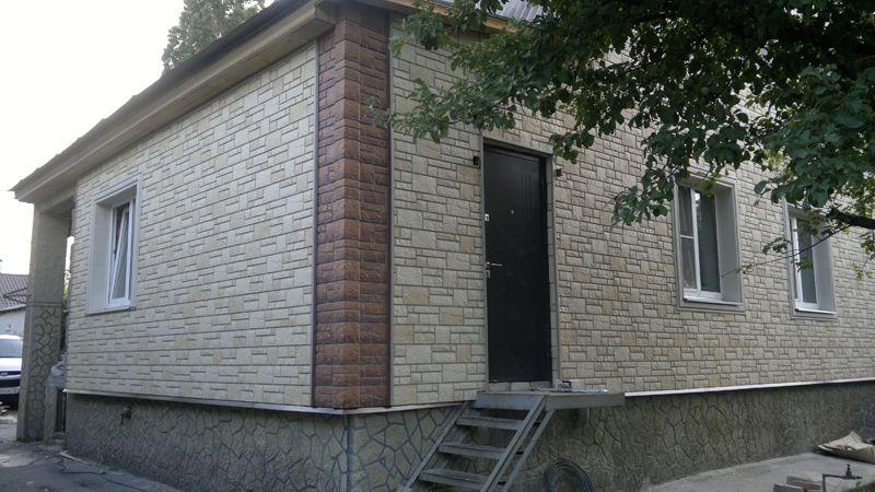Пример использования фасадных панелей
