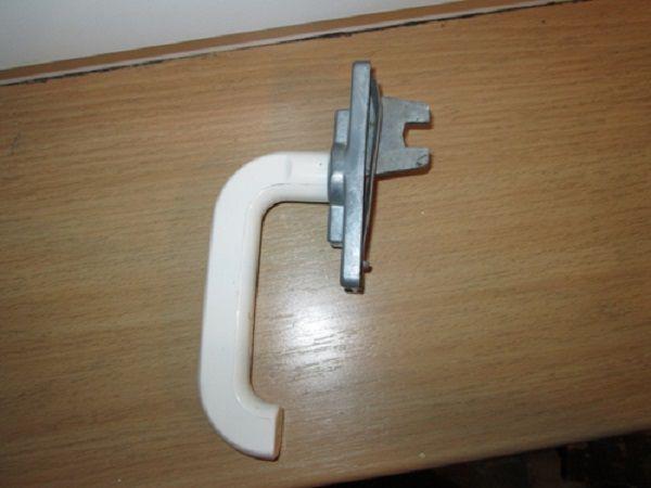 Пример ручки с корпусом из силумина