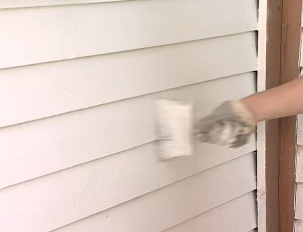 Прокрашивайте фасад равномерно