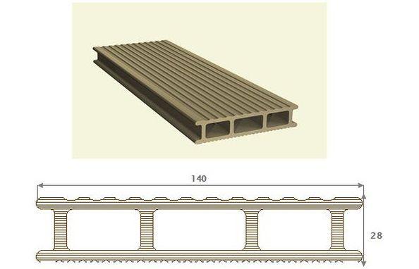 Размеры и конструкция декинга