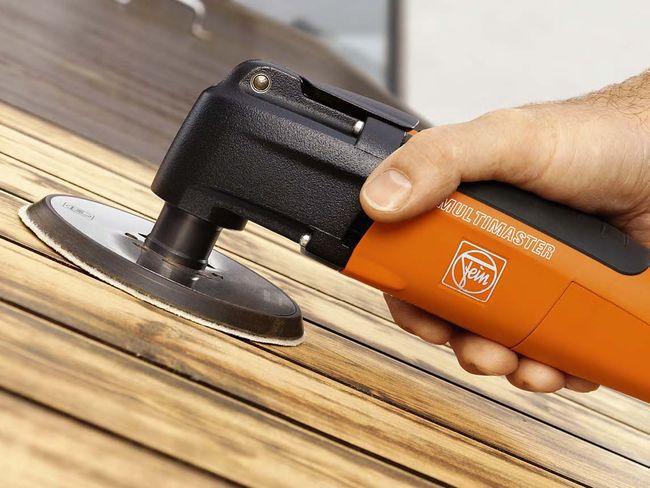 Шлифмашинка для обработки стен деревянного дома