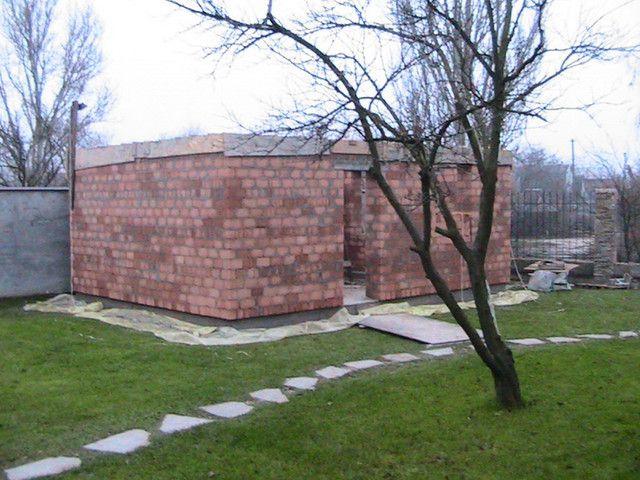 Стена до отделки