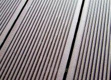 Террасная доска (декинг) древесно-полимерная, поверхность вельвет