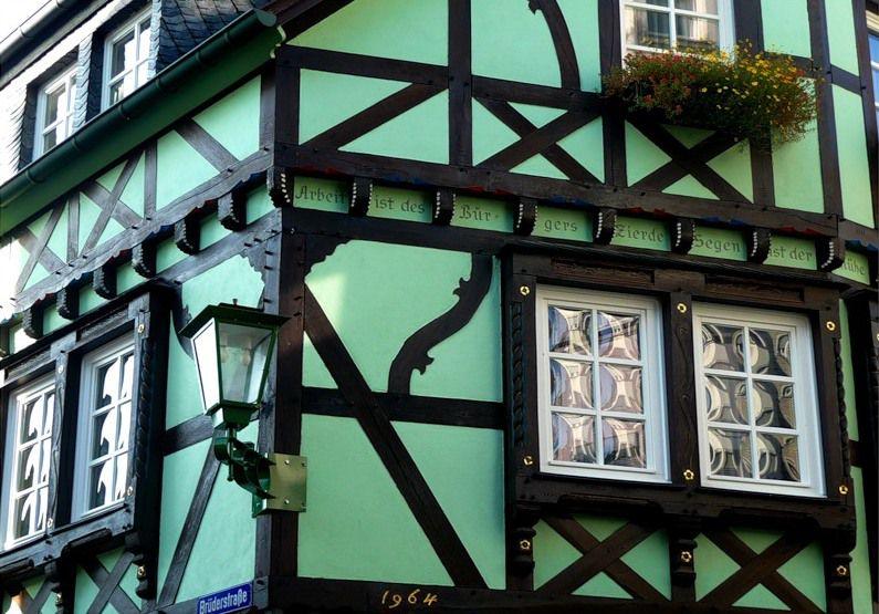 Уютный немецкий дом