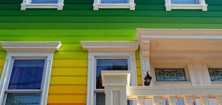 Водостойкие краски устойчивы к загрязнениям