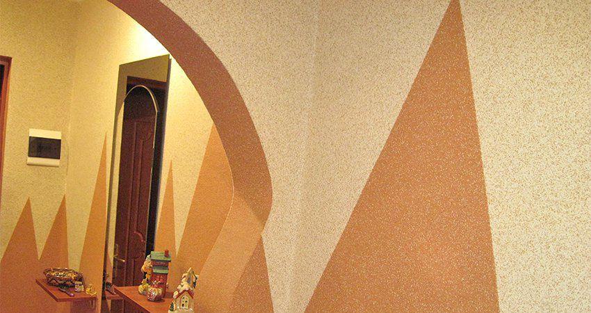 Мраморная штукатурка: отделка стен квартиры