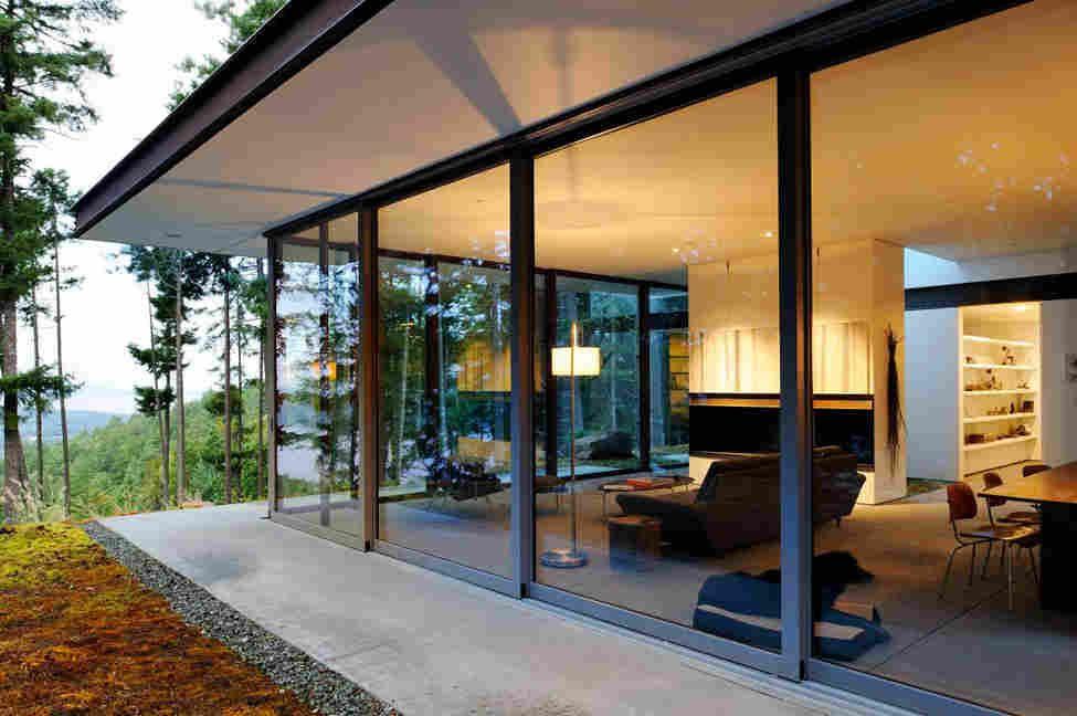 Eagle Ridge — особняк в лесу от Gary Gladwish Architecture