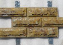 Фасадная плитка с металлическими креплениями