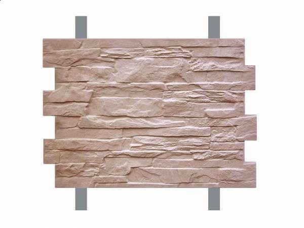 Монтаж плитки производится саморезами по обрешетке из металлического профиля либо из доски