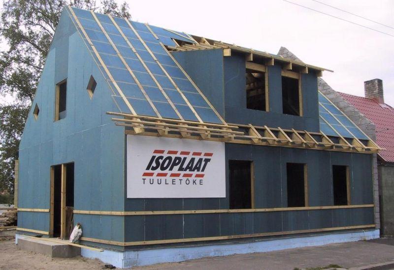 Теплоизоляционные и ветрозащитные плиты ISOPLAAT