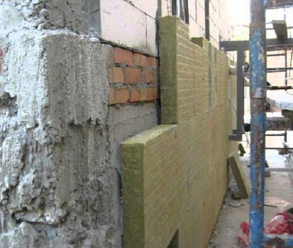 Утепление фундамента минераловатной плитой