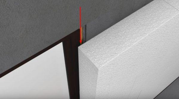 Вне зависимости от способа установки, слой пенопласта на внешних стенах должен немного перекрывать оконный блок, чтобы не допустить вымораживания дома через него в холодное время года