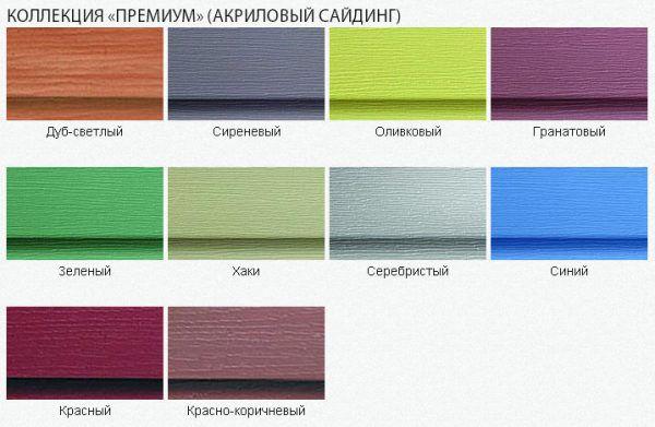 Акриловый сайдинг – новинка в области материалов для отделки фасада