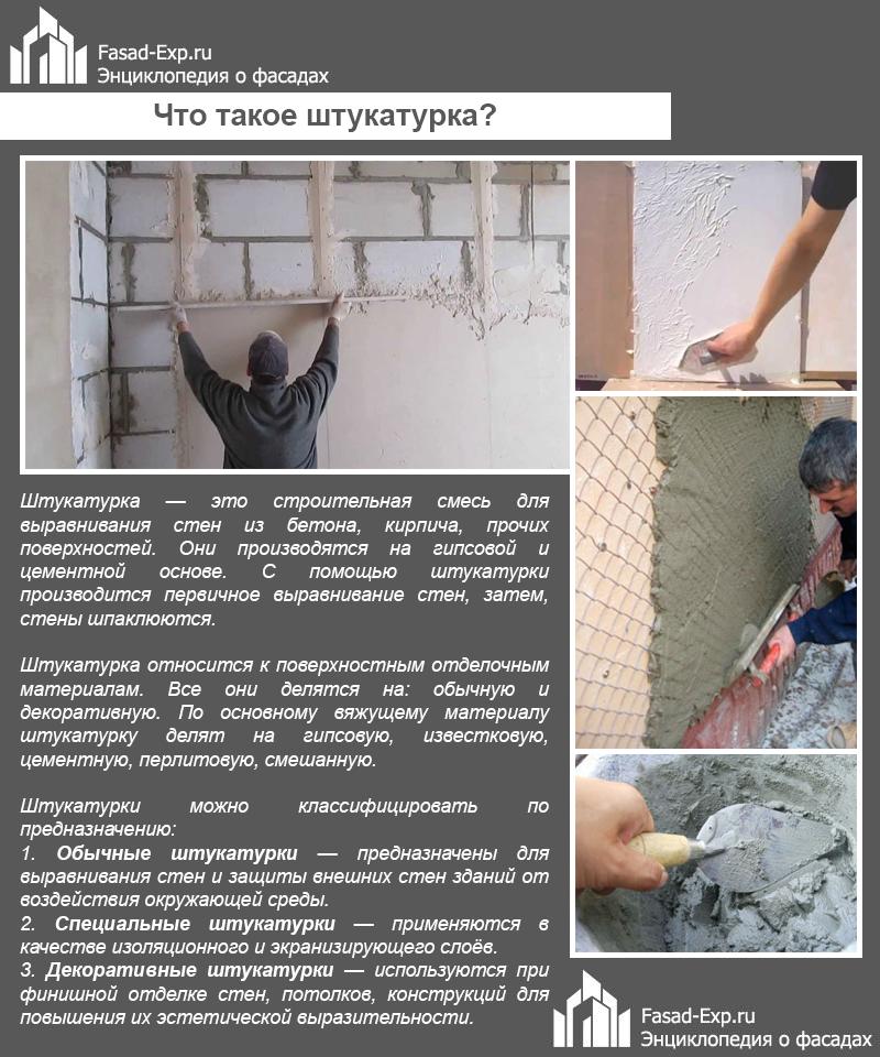 строительные растворы для отделки стен
