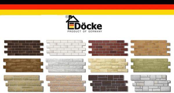 Цокольный сайдинг Деке (Döcke)