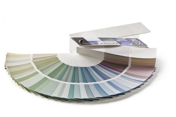 Цветовой каталог, который предназначен для подбора цвета наружных поверхностей (фасадов, крыш и прочих внешних деталей)